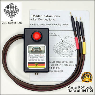 Ricks Mercedes obd1 diagnostic code fault reader